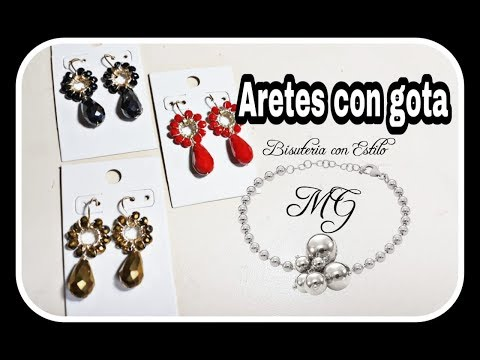 Aretes Con Gota