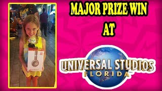 STACKER MAJOR PRIZE WIN! Universal Studios Florida Palace Arcade