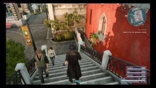 FFXV 112 Points of Interest of Altissia City