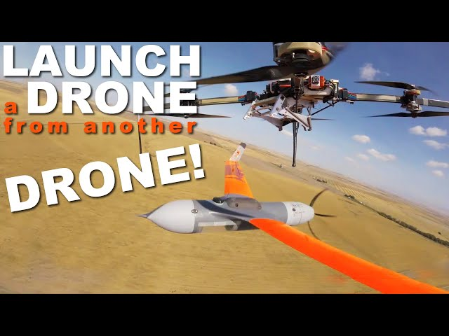 FLARES: Launch a Drone from Another Drone