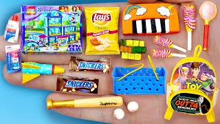 30 DIY BARBIE MINIATURE IDEAS , Miniature Foods and Crafts !