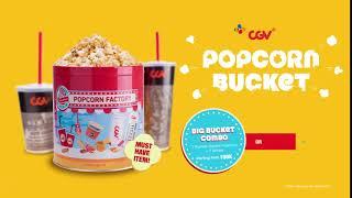 CGV Popcorn Bucket