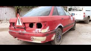 Покупка авто для проекта. Забираем Audi 80 (трейлер) PitStopMD