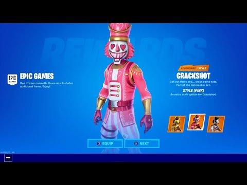 Fortnite New Crackshot Style OG Pink