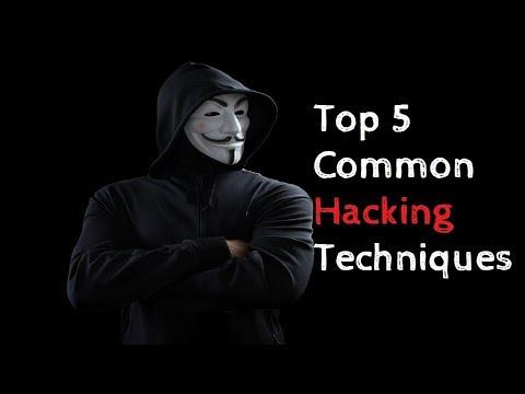 Top 5 Common Hacking Techniques | Best Hacking Techniques
