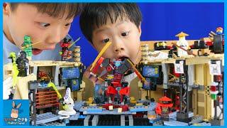 레고 닌자고 사무라이 X 의 동굴 지켜라! 닌자 vs 악당들 대결 ♡ 닌자고레고장난감 신제품 블럭 놀이 Lego Ninjago Toys | 말이야와친구들 MariAndFriends