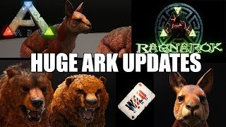 HUGE ARK UPDATE! - DINO TLC PHASE 1! - XBOX UPDATE IS LIVE! - RAGNAROK CONSOLE UPDATE AND MORE!