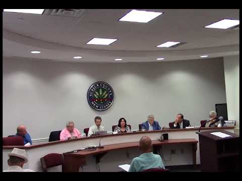 July 11 2018 Sussex County Board of Chosen Freeholders