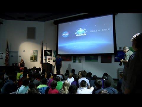 NASA   Beautiful Earth Program at the Goddard Visitor ...