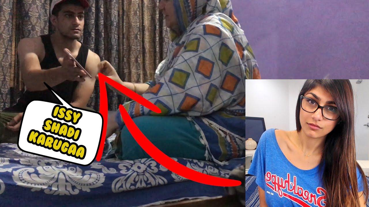 MIA KHALIFA SE SHADI KRUGA PRANK  ON MOM ( TRY NOT TO LAUGH)