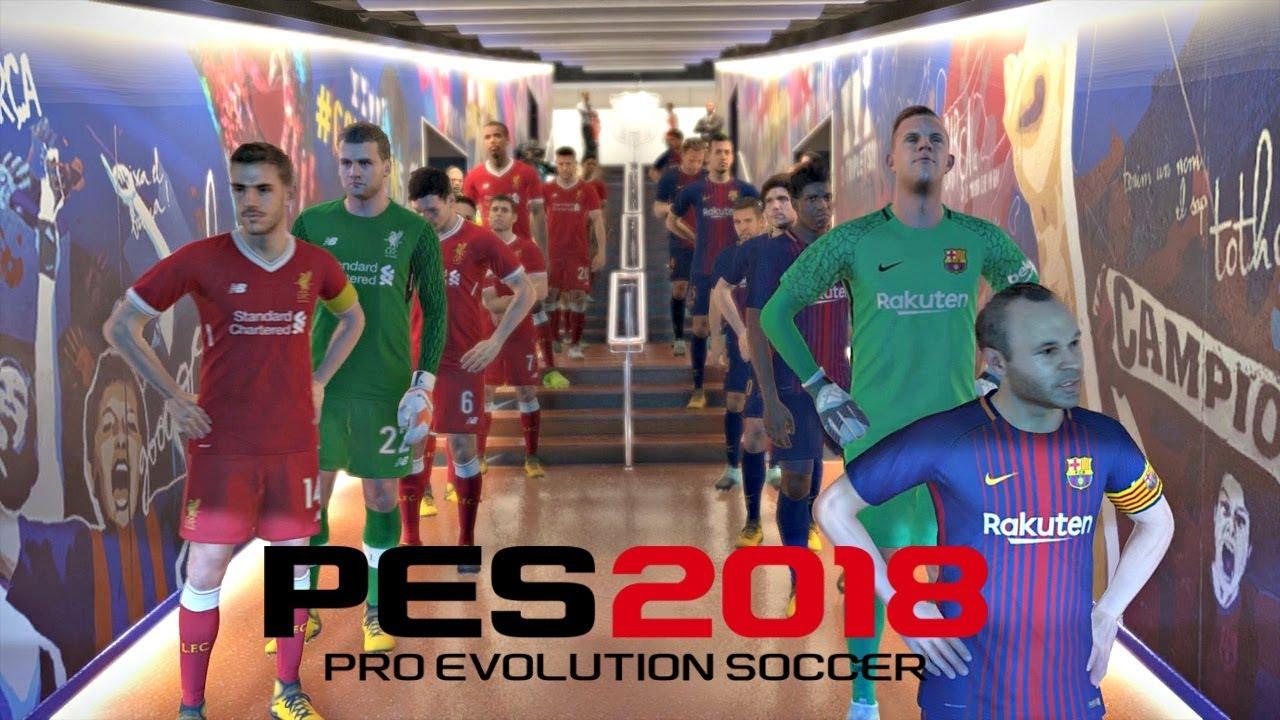 039011125f6 Pro Evolution Soccer 2018 Demo FC Barcelona vs Liverpool FC Full Match