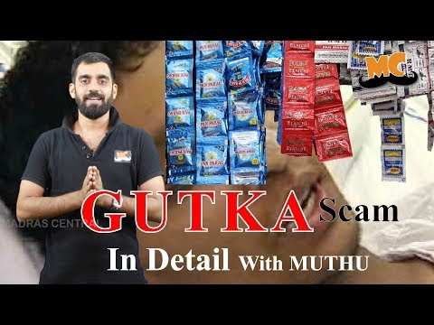 Gutka Scam In Detail | In Detail with Muthu | Vlog | Madras Central
