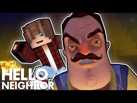Minecraft Hello Neighbor - Sneaking Into The Neighbors House (Minecraft Roleplay)