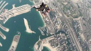 Me jumping out of a plane @ Dubai
