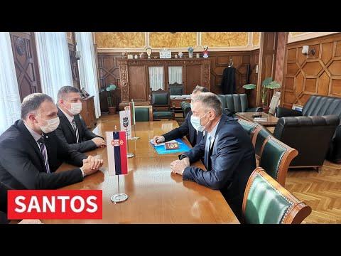 POSETA GRADU ZRENJANINU NJEGOVE EKSELENCIJE PETKA DOJKOVA AMBASADORA REPUBLIKE BUGARSKE U SRBIJI