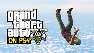 GTA 5 PS4 Gameplay : Super Jump Challenge! (GTA 5 Next Gen)