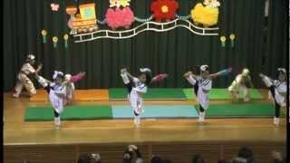 ディズニーの音楽を編集して作ったダンスでの保育園の発表会様子です!...