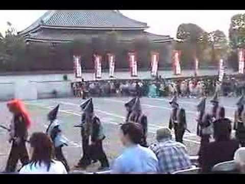 Tokyo Historical Parade-Satsuma Choshu Tosa Troops 官軍