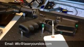 AR15 Laser Engraving