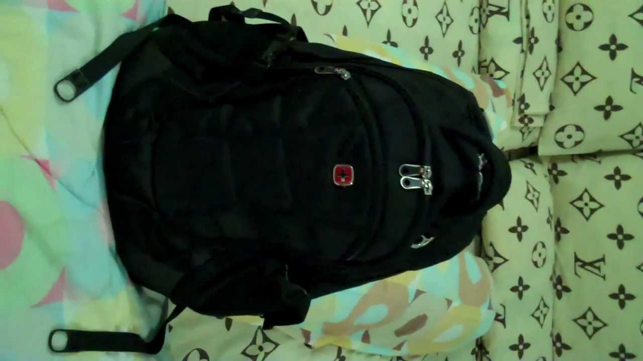 SwissGear SA9769 Computer Backpack (Black) - YouTube