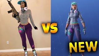 Every Fortnite Skin In Real Life! #2 (Teknique, Red Knight, Burnout)