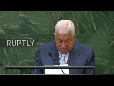 UN: Palestine's Abbas calls on Trump to rescind Jerusalem decision