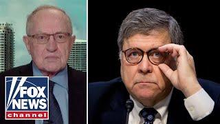 Dershowitz calls Barr's confirmation hearing a 'home run so far'