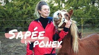 Sapée en poney #9 : Léa et Sangoku