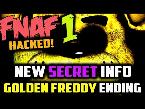 FNAF HACKED! SECRET GOLDEN FREDDY ENDING + NEW INFO Five Nights at Freddy's Golden Freddy Jumpscare