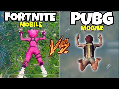 FORTNITE MOBILE vs. PUBG Mobile (ANDROID & iOS, iPhone, iPad)
