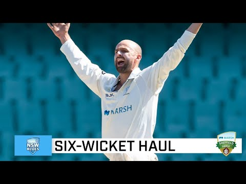 Lyon rips through Vics with remarkable spell | Marsh Sheffield Shield 2020-21