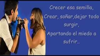 Alex Ubago y Amaia Montero - Me muero por conocerte (letra -...