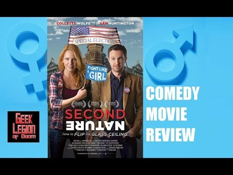 SECOND NATURE ( 2017 Sam Huntingon ) Body / Gender Swap Comedy Movie Review
