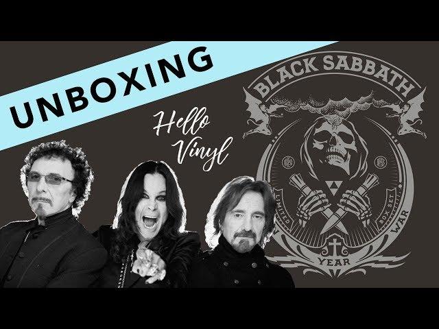 HELLO VINYL / Unboxing Black Sabbath - Ten Year War / #3