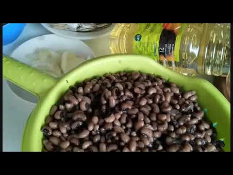 How To Make Oil Beans Stew. Ghana