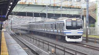 横須賀線E217系Y143編成@西横浜