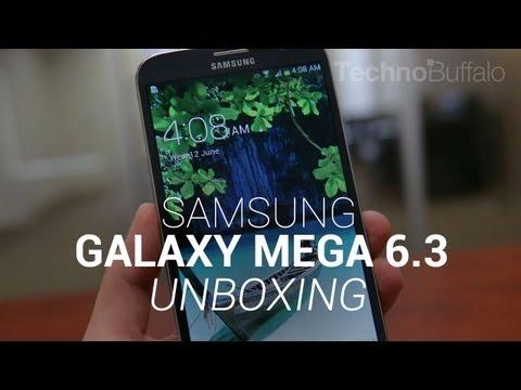 Samsung Galaxy Mega 6.3 Unboxing!