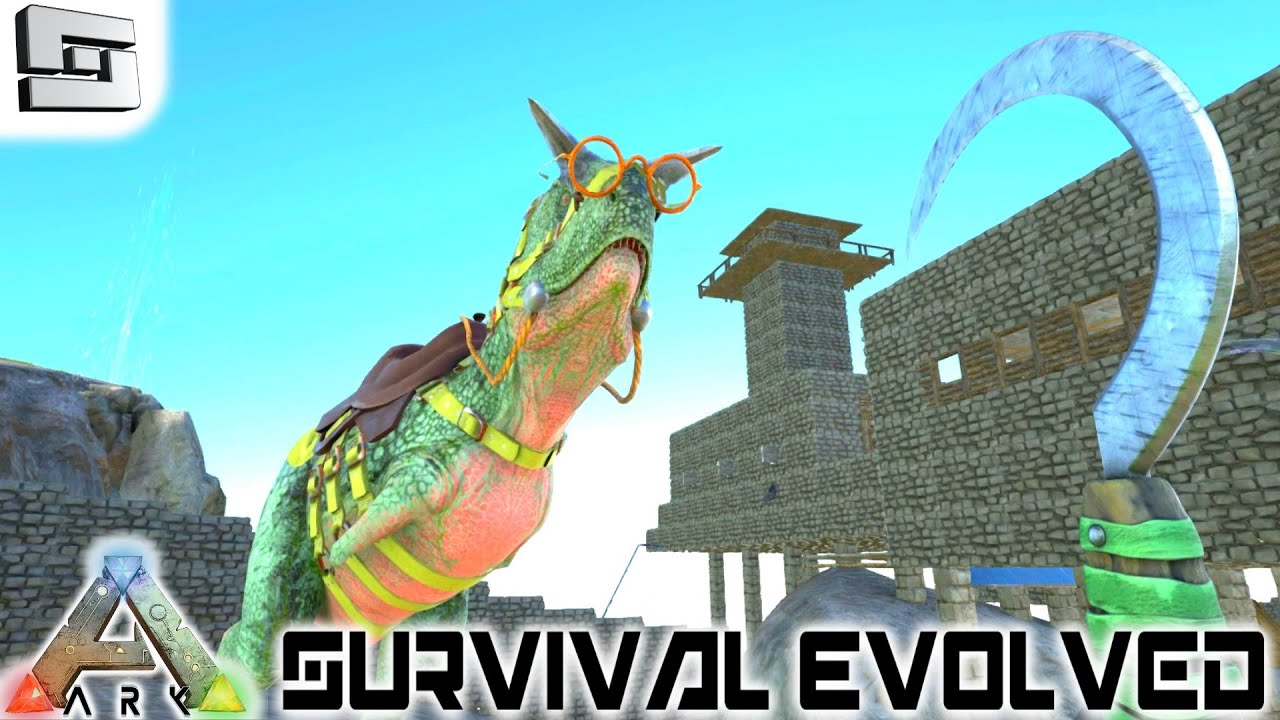 ARK: Survival Evolved   FARMING WITH TINY! E59 ( Gameplay )   YouTube