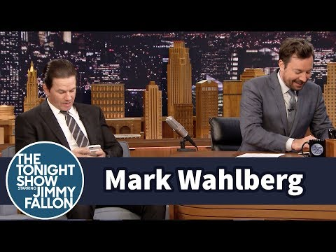 Mark Wahlberg Has an Adorable Impression of His Teenage Daughter