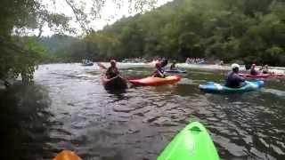 Middle Ocoee River Kayaking 8-15-15