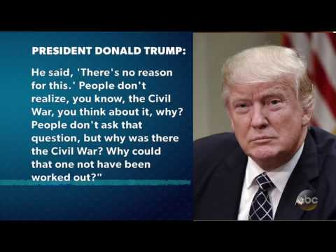 Pres. Trump: Andrew Jackson Angry Over Civil War   The View
