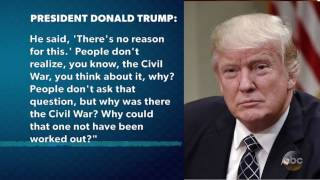 Pres. Trump: Andrew Jackson Angry Over Civil War | The View
