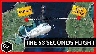 Top 10 Shortest Flights You Won't Believe Exist