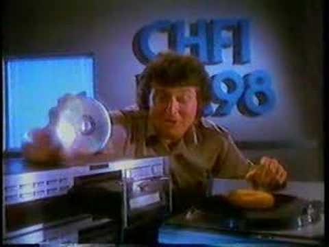 CHFI FM 98 Has got CDs! 1986