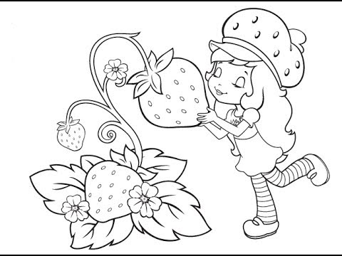 strawberry shortcake berry how to drawing strawberry shortcake