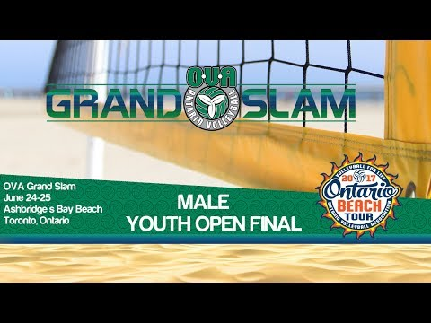 Male Final - YOUTH OPEN DIVISION - Toronto Grand Slam Beach Volleyball