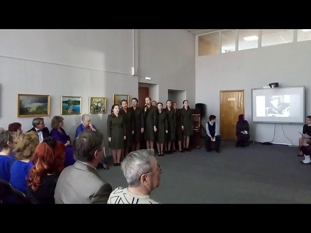 №595 Учащиеся 8 класса школы №50. Песня