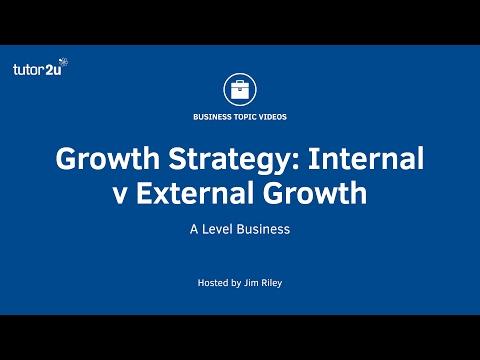 Growth Strategy: Internal v External Growth