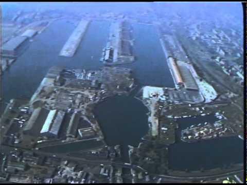 ISLE OF DOOSCANARY WHARFHERON QUAY  AERIAL 1982