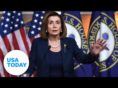 Nancy Pelosi holds press conferences ahead of impeachment trial | USA TODAY